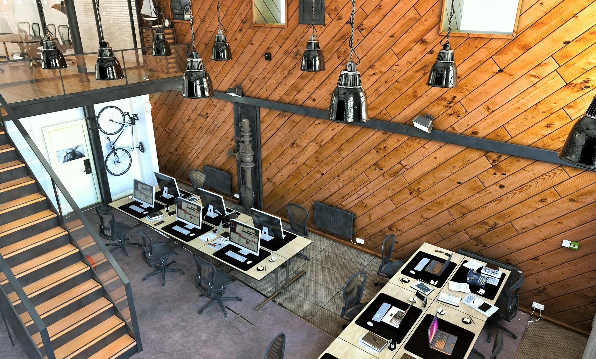 loft office. Loft Transformation Office